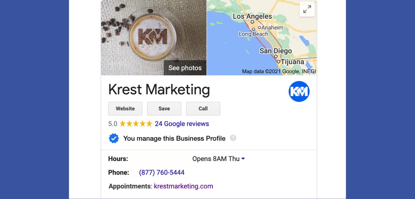 Google My Business Optimization 1